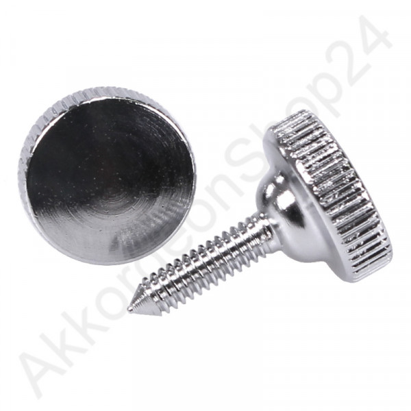 Thumbscrew 12x18mm, color chrome