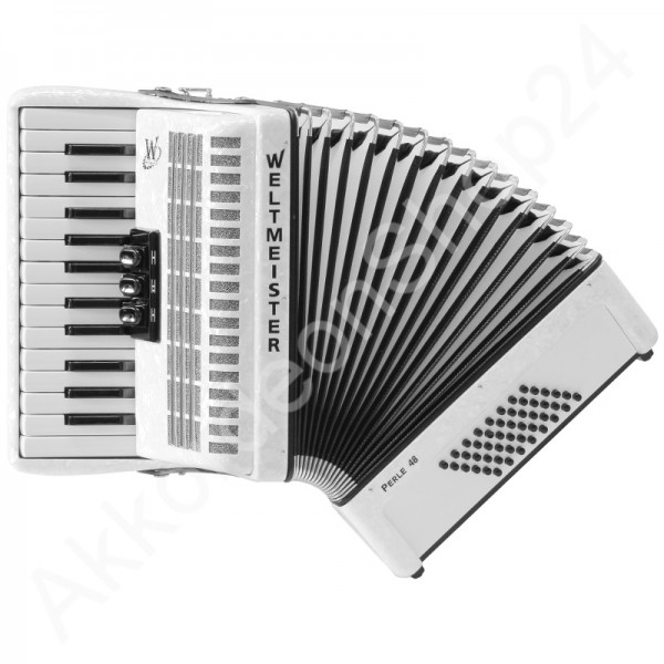 Accordion-Weltmeister-Pearl-white