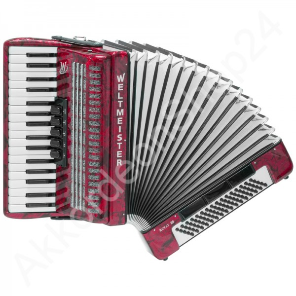 Accordion-Weltmeister-Achat-80-red