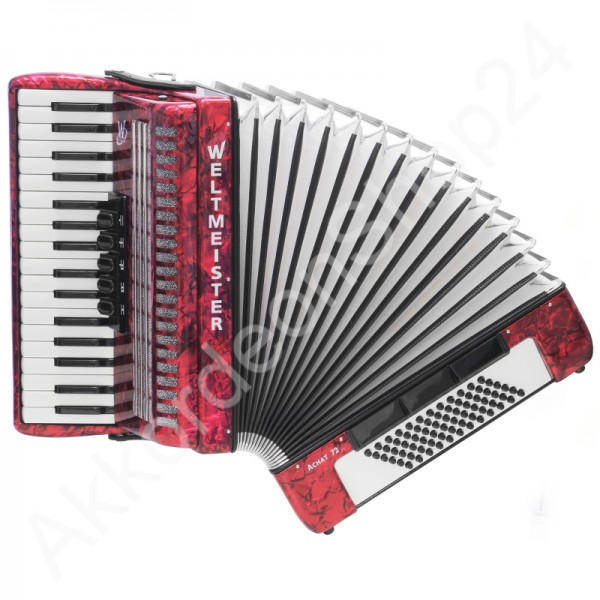 Accordion-Weltmeister-Achat-72-red