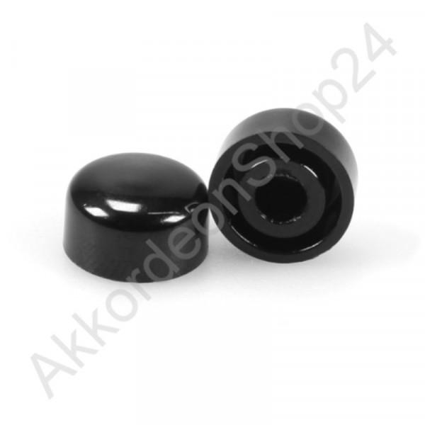 Ø13,0x7,5mm treble button for diatonic accordion black