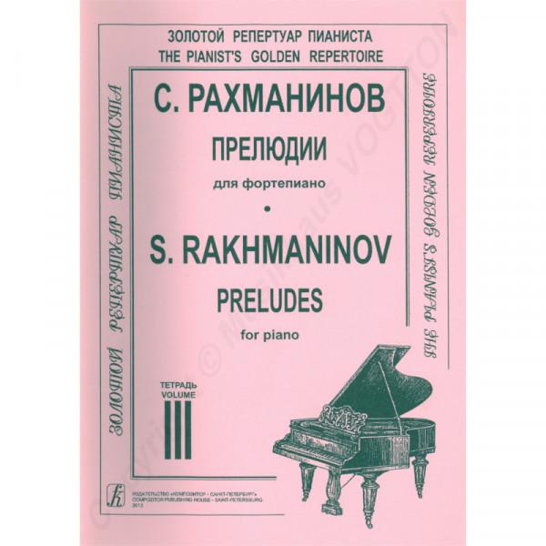 Sergej Rachmaninov, Präludien, Heft 3