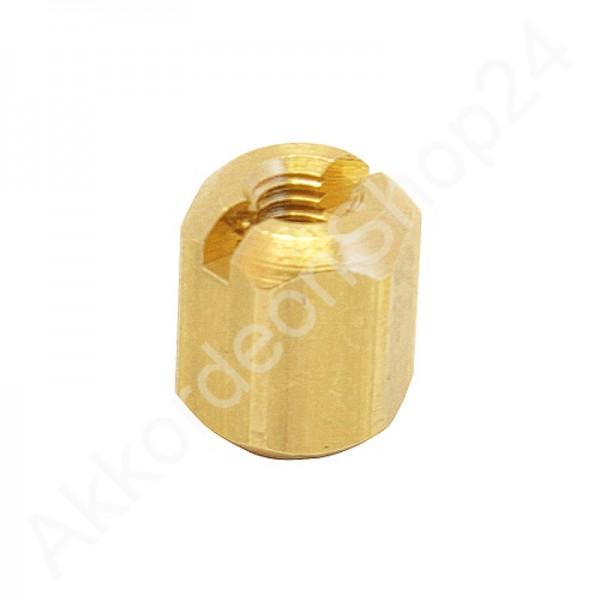 Reed-block-nut-hexagonal-M3