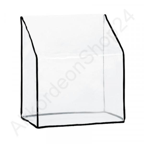 72 accordion dust Cover 460x420x230 mm, transparent