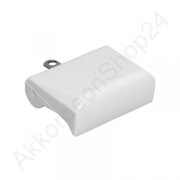 Bass register switch (small) - white