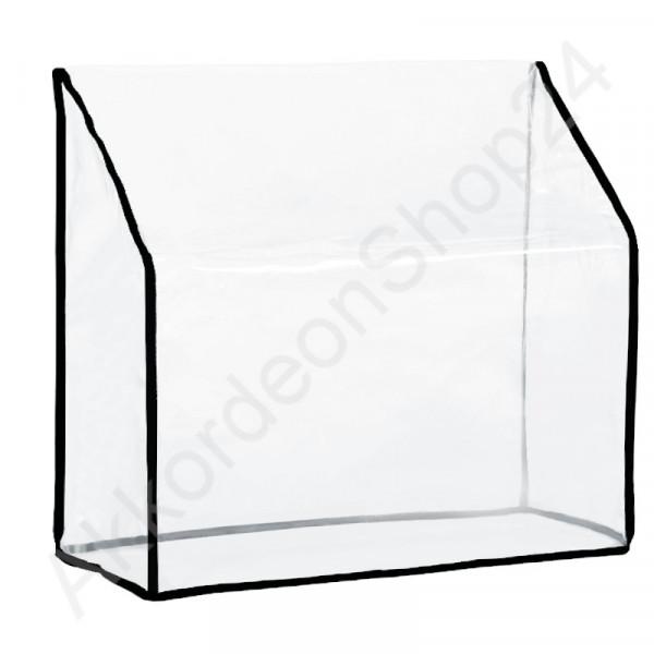 120 accordion dust Cover 510x420x230 mm, transparent